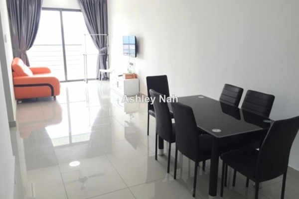 For Rent Serviced Residence at Senza Residence, Bandar Sunway Leasehold Fully Furnished 3R/2B 2.45k