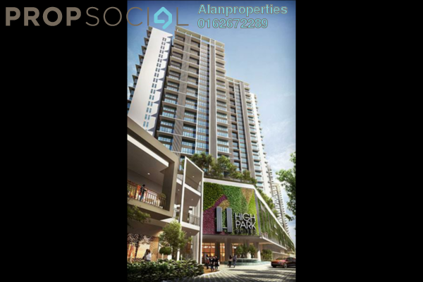 For Sale Serviced Residence at HighPark Suites, Kelana Jaya Freehold Unfurnished 2R/1B 487k