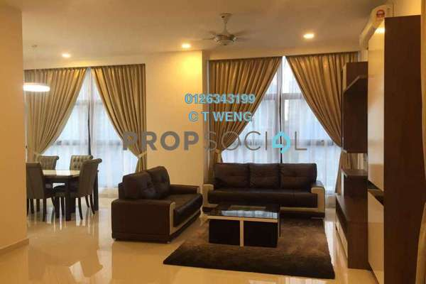 For Sale Condominium at Mirage Residence, KLCC Freehold Fully Furnished 2R/2B 1.92m
