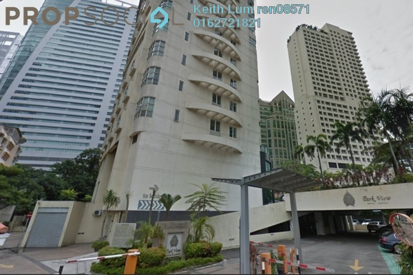 For Rent Condominium at Park View, KLCC Freehold Fully Furnished 1R/1B 2k