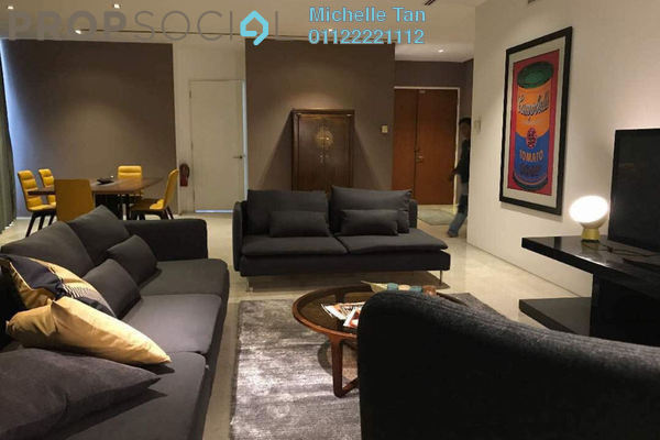 For Sale Condominium at K Residence, KLCC Freehold Fully Furnished 3R/5B 3.6m