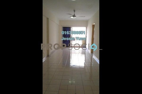 For Sale Apartment at Pelangi Damansara Sentral, Mutiara Damansara Freehold Semi Furnished 3R/2B 345k