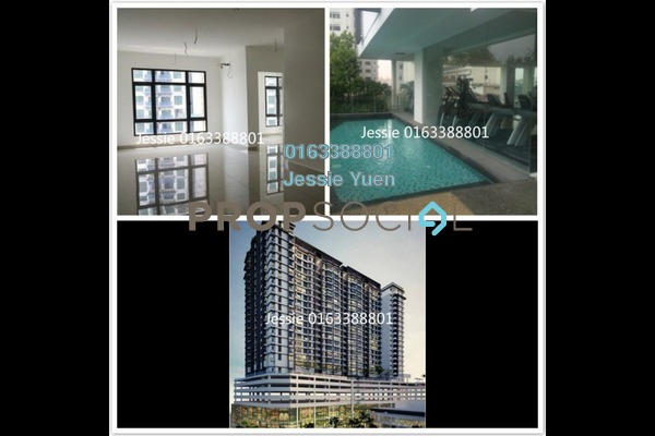 For Sale Condominium at Pearl Suria, Old Klang Road Freehold Unfurnished 3R/2B 690k