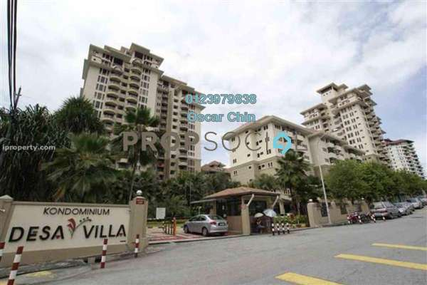 For Sale Condominium at Desa Villa, Taman Desa Freehold Fully Furnished 3R/2B 650k