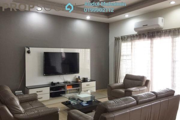 For Sale Terrace at Taman Damai Utama, Bandar Kinrara Freehold Semi Furnished 5R/4B 620k