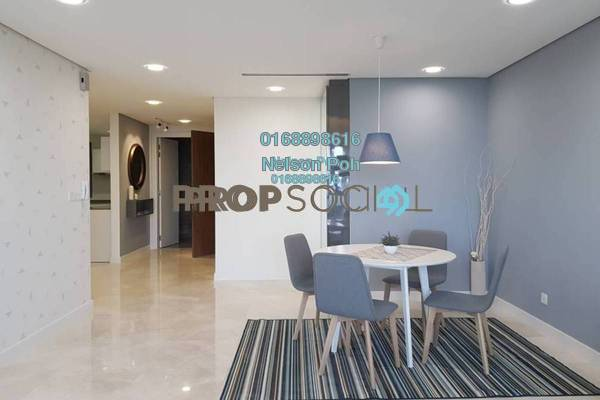 For Rent Serviced Residence at The Sentral Residences, KL Sentral Freehold Fully Furnished 2R/2B 6k