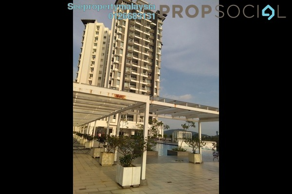 For Sale Condominium at 3 Residen, Melawati Freehold Semi Furnished 3R/2B 750k