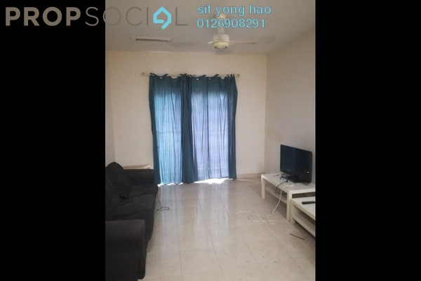 For Rent Apartment at Kristal Heights, Shah Alam Freehold Semi Furnished 3R/2B 1.5k