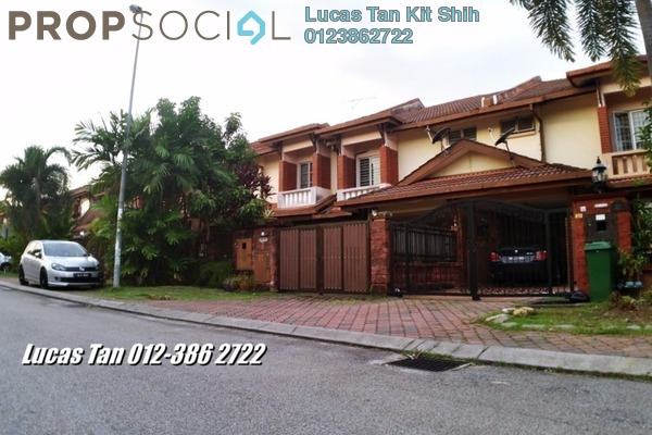 For Sale Terrace at Serambi, Bukit Jelutong Freehold Semi Furnished 4R/4B 820k