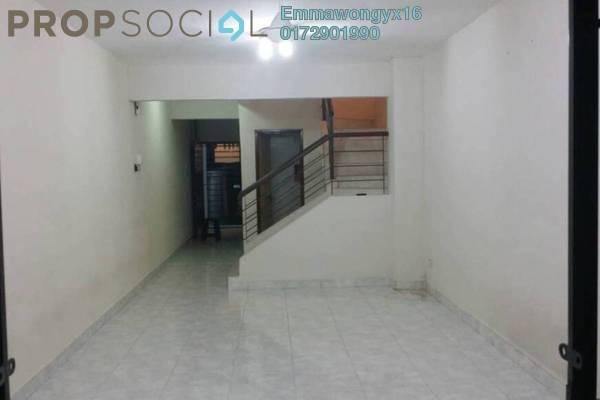 For Rent Townhouse at KiPark Sri Utara, Jalan Ipoh Freehold Semi Furnished 3R/3B 1.7k