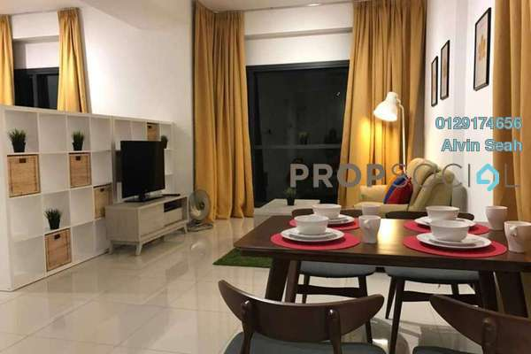 For Rent Serviced Residence at BayBerry Serviced Residence @ Tropicana Gardens, Kota Damansara Freehold Fully Furnished 0R/1B 2.2k