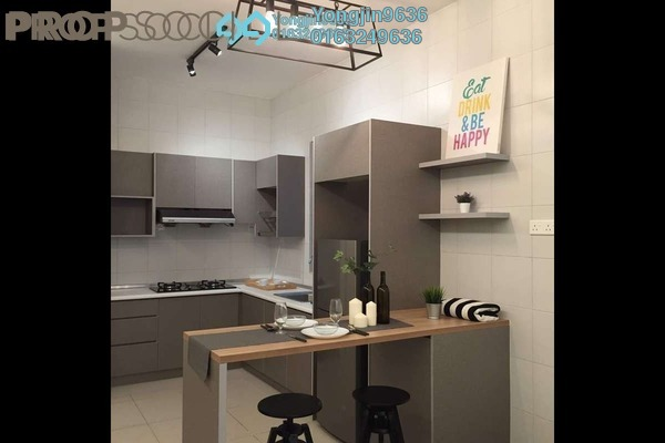 For Rent Serviced Residence at Da Men, UEP Subang Jaya Freehold Fully Furnished 2R/1B 2.3k