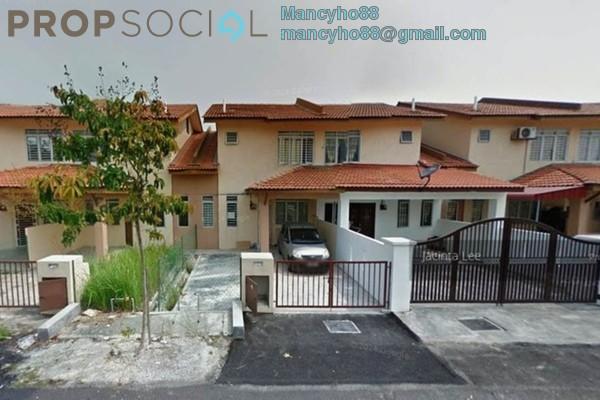 For Sale Terrace at Topaz 3, Bandar Saujana Putra Freehold Semi Furnished 4R/3B 420k