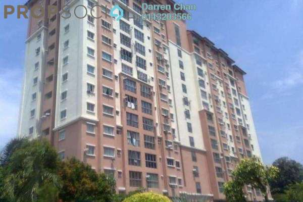 For Rent Condominium at Tulin Apartment, Old Klang Road Freehold Semi Furnished 3R/2B 1.2k