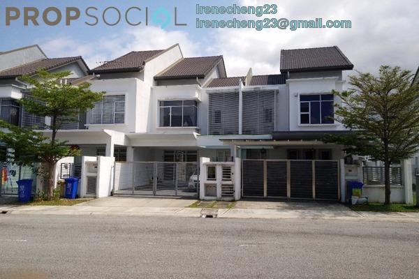 For Sale Terrace at Damai Residences, Kota Kemuning Freehold Semi Furnished 4R/4B 750k