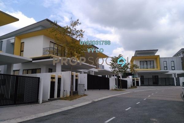 For Sale Semi-Detached at Twin Palms, Bandar Sungai Long Freehold Semi Furnished 4R/4B 1.4m