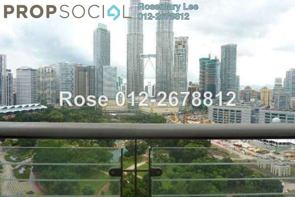 For Rent Condominium at The Binjai On The Park, KLCC Freehold Semi Furnished 3R/4B 19k