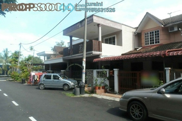 For Sale Terrace at Saujana Impian, Kajang Freehold Semi Furnished 4R/3B 420k