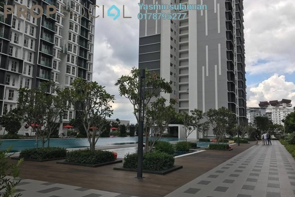 For Sale Condominium at Green Residence, Cheras South Freehold Semi Furnished 3R/2B 700k