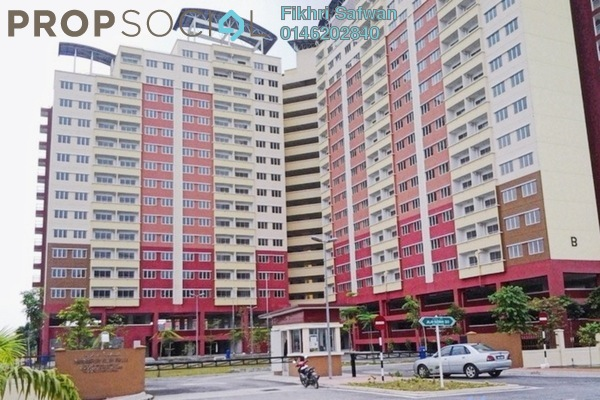 For Rent Apartment at Alam Prima, Shah Alam Freehold Semi Furnished 3R/2B 1.3k