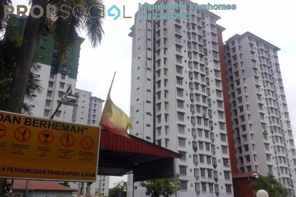 For Rent Apartment at Ilham Apartment, TTDI Jaya Freehold Fully Furnished 3R/2B 1.5k