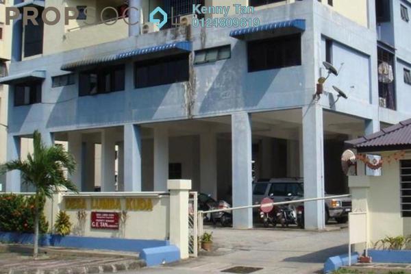 For Rent Apartment at Desa Lumba Kuda, Georgetown Freehold Semi Furnished 3R/2B 1k