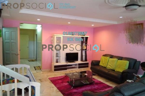 For Sale Terrace at Section 6, Bandar Mahkota Cheras Freehold Semi Furnished 4R/3B 608k