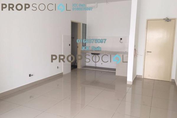 For Sale Condominium at Seri Pinang Apartment, Setia Alam Freehold Semi Furnished 3R/2B 328k