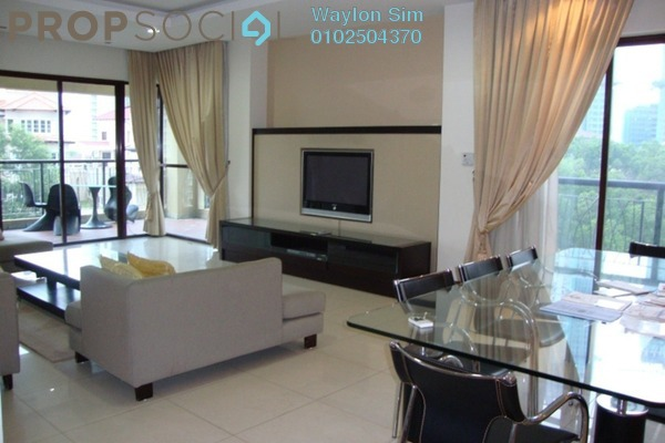 For Rent Condominium at Mont Kiara Damai, Mont Kiara Freehold Fully Furnished 5R/4B 8k