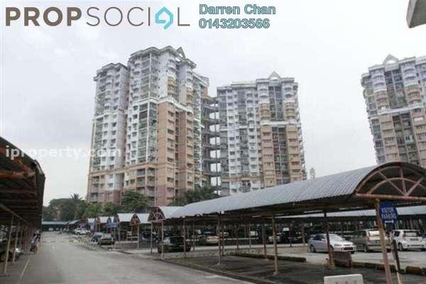 For Rent Condominium at Menara Alpha, Wangsa Maju Freehold Semi Furnished 3R/2B 1.5k
