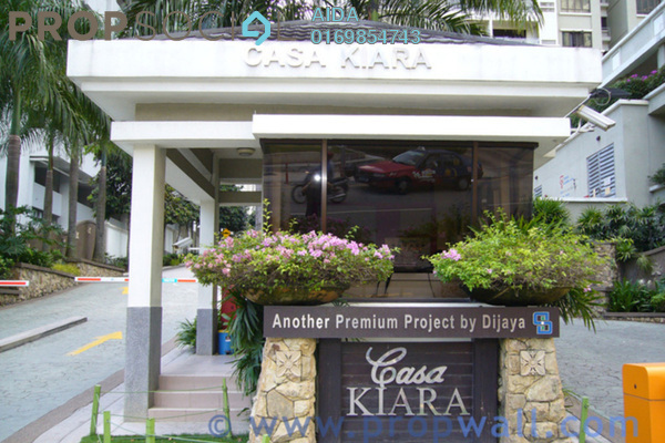 For Sale Condominium at Casa Kiara II, Mont Kiara Freehold Semi Furnished 4R/3B 1.1m