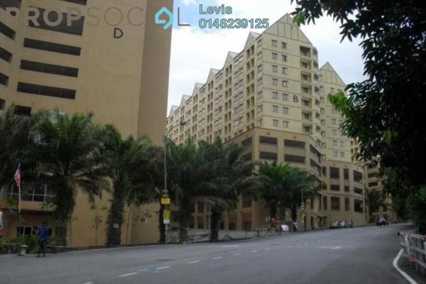 For Rent Condominium at Spring Ville, Ukay Freehold Semi Furnished 3R/2B 1.3k