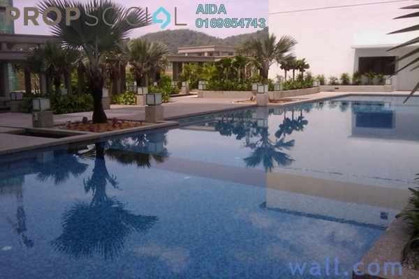 For Rent Condominium at Gateway Kiaramas, Mont Kiara Freehold Fully Furnished 1R/1B 3.4k