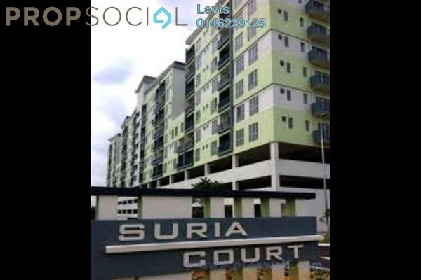 For Rent Condominium at Suria Court, Bandar Mahkota Cheras Freehold Unfurnished 3R/2B 1k