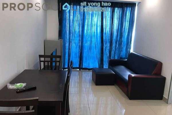 For Rent Condominium at Menara U2, Shah Alam Freehold Fully Furnished 2R/1B 1.5k