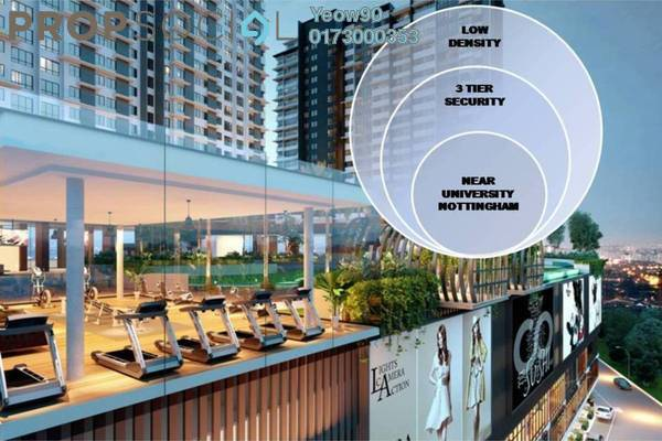 For Sale Condominium at Kiara Plaza, Semenyih Freehold Unfurnished 1R/1B 248k