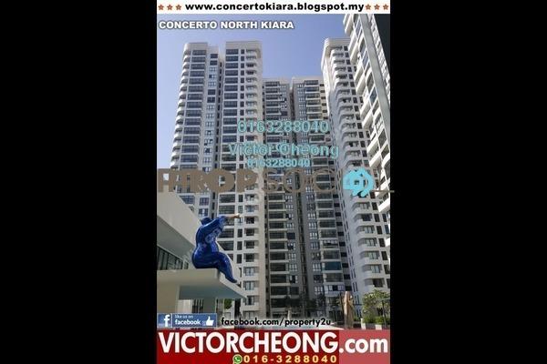 For Rent Condominium at Concerto Kiara, Dutamas Freehold Semi Furnished 3R/3B 3.2k