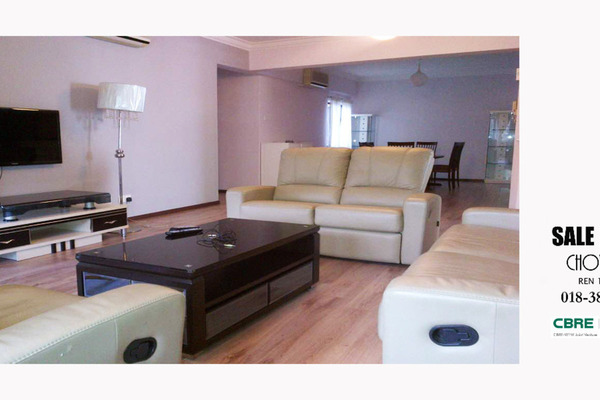 For Rent Condominium at Fraser Towers, Gasing Heights Freehold Fully Furnished 3R/3B 2.65k