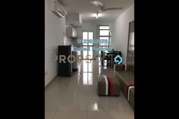 For Rent Condominium at The Domain, Cyberjaya Freehold Semi Furnished 3R/1B 1.5k