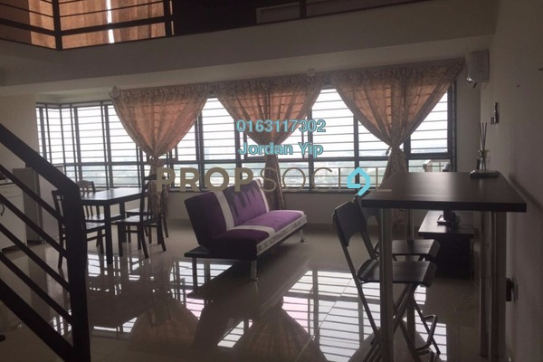 For Rent SoHo/Studio at Subang SoHo, Subang Jaya Freehold Fully Furnished 1R/1B 1.8k