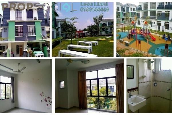 For Rent Townhouse at Park Villa, Bandar Bukit Puchong Freehold Semi Furnished 3R/2B 1.2k