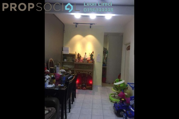 For Sale Terrace at PU6, Bandar Puchong Utama Freehold Semi Furnished 4R/3B 480k