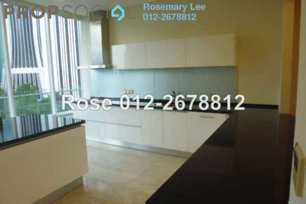 For Rent Condominium at The Oval, KLCC Freehold Semi Furnished 3R/4B 13.0千