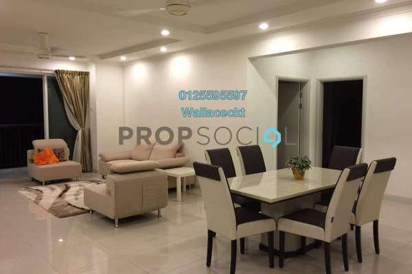 For Sale Condominium at Platino, Gelugor Freehold Fully Furnished 3R/3B 1.4m
