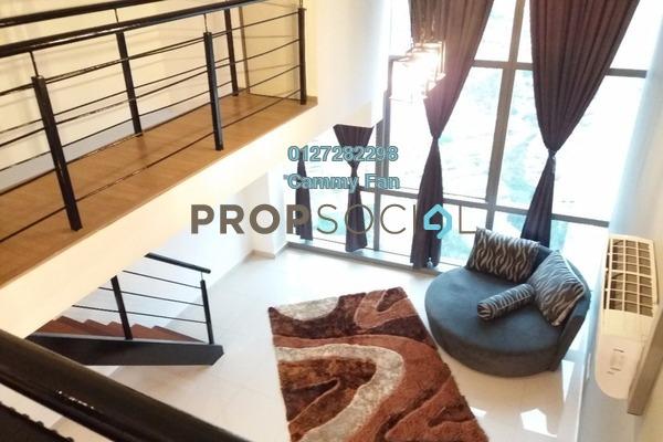 For Rent SoHo/Studio at Pinnacle, Petaling Jaya Freehold Fully Furnished 1R/2B 3k