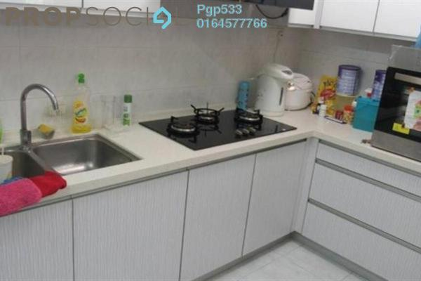 For Sale Apartment at Taman Kheng Tian, Jelutong Freehold Semi Furnished 3R/1B 345k