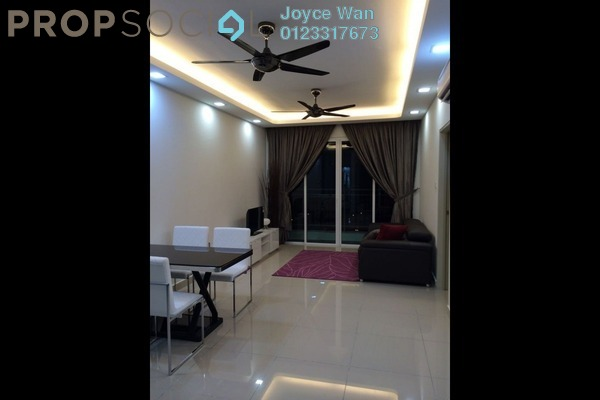 For Rent Serviced Residence at Pacific Place, Ara Damansara Freehold Fully Furnished 4R/2B 2.3k
