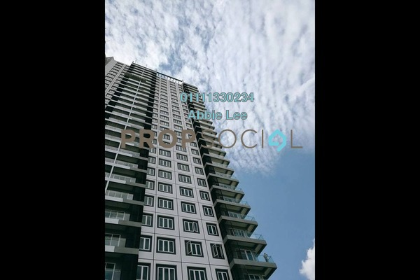 For Rent Serviced Residence at Mercury Serviced Apartment @ Sentul Village, Sentul Freehold Semi Furnished 3R/2B 1.6k