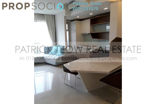 For Sale Condominium at VERVE Suites, Mont Kiara Freehold Fully Furnished 1R/1B 720k