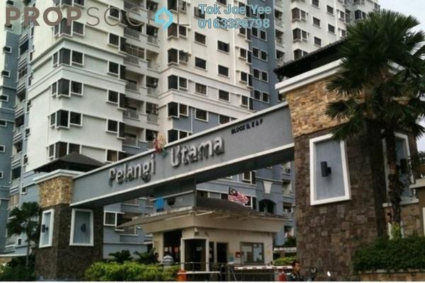 For Rent Condominium at Pelangi Utama, Bandar Utama Freehold Semi Furnished 3R/2B 1.5k